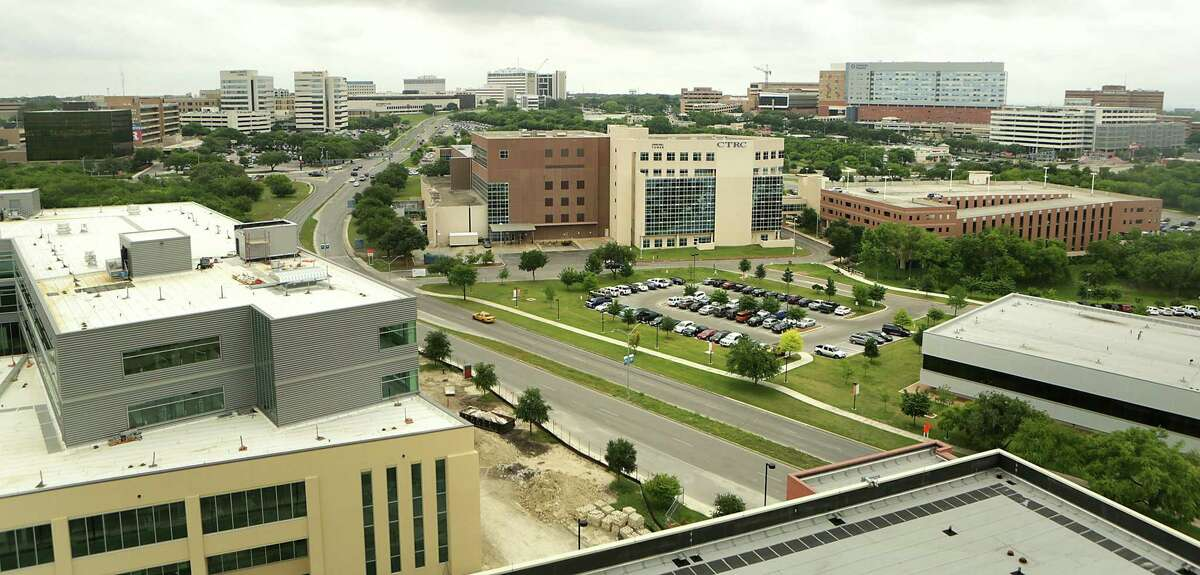 The South Texas Medical Center skyline as seen on Monday, May 4, 2015.