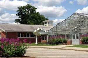 Wamogo Regional High School's FFA center, part of the Region 6 school district. After schools were closed by Gov. Lamont because of the coronavirus, school districts including Region 6 launched distance learning programs for students to learn at home.