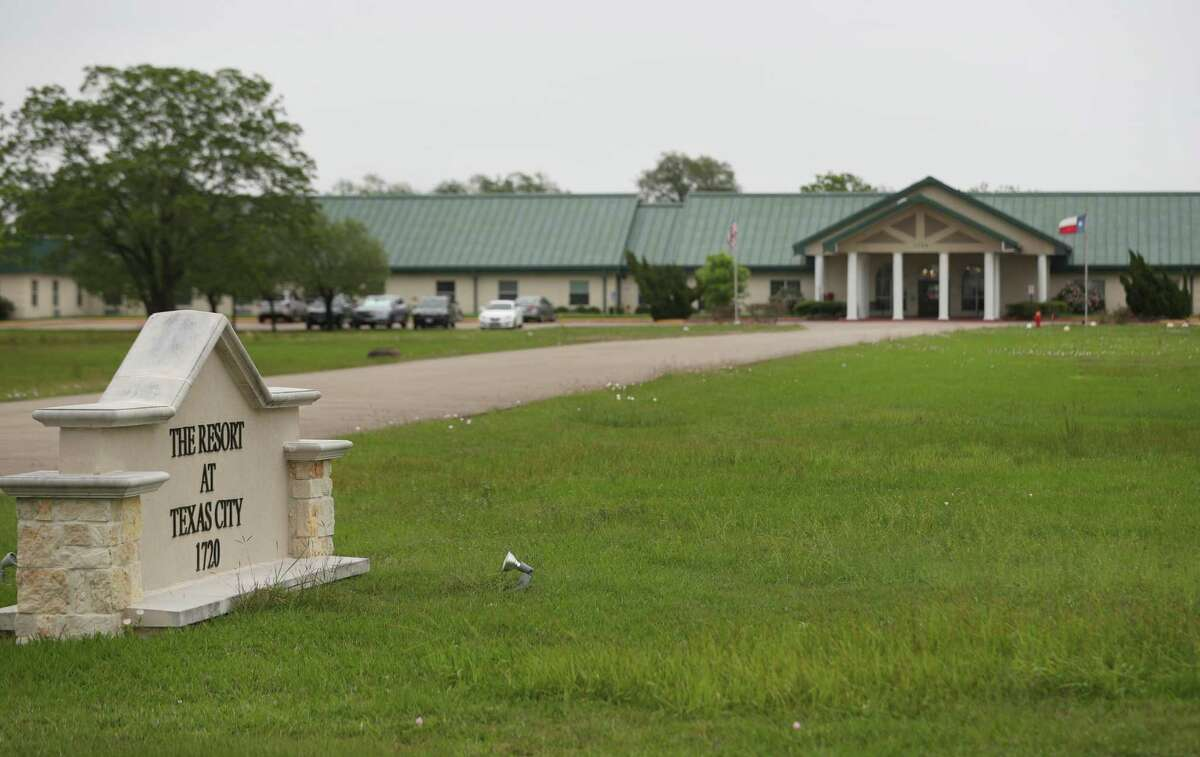The Resort at Texas City, a nursing home where 80 residents and employees tested positive for the new coronavirus, photographed Friday, April 3, 2020, in Texas City.