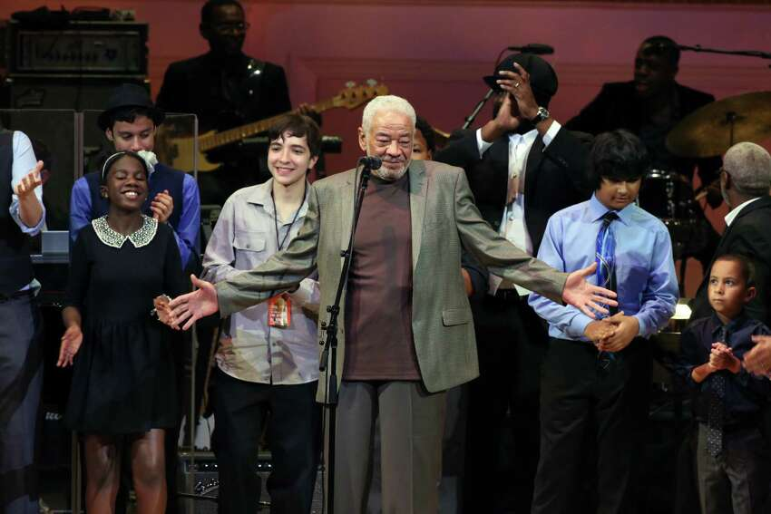 FILE -- Bill Withers onstage during a tribute concert featuring his music at Carnegie Hall in New York on Oct. 1, 2015. Withers, the legendary soul singer behind 1970s hits like