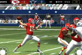 Get your sports fix with the Madden NFL Mobile Football app.