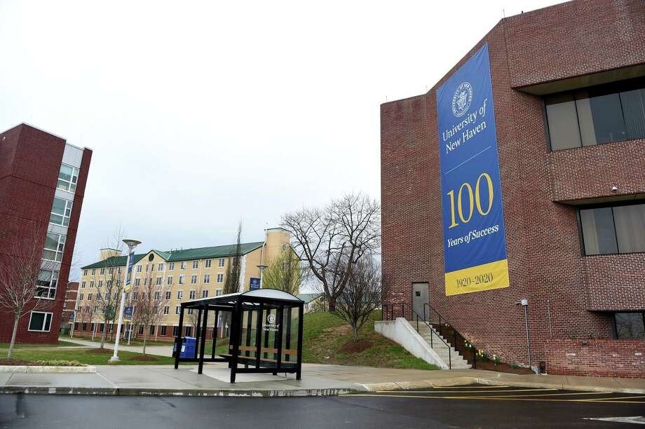 The University of New Haven in West Haven photographed on March 28, 2020. Photo: Arnold Gold, Hearst Connecticut Media / New Haven Register