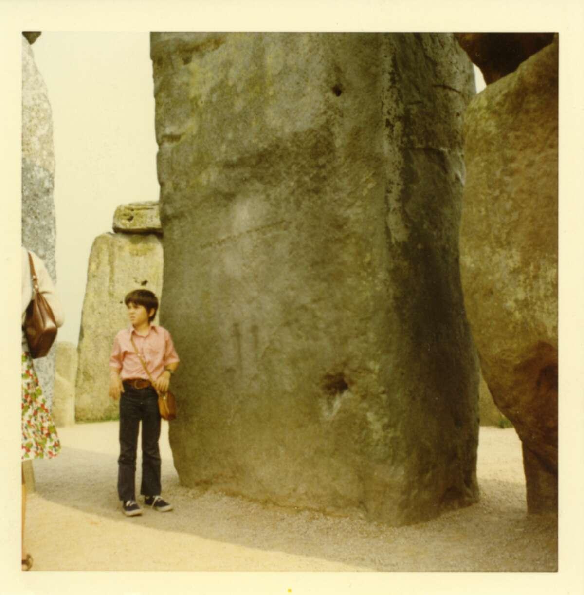 1. I've leaned on Stonehenge.