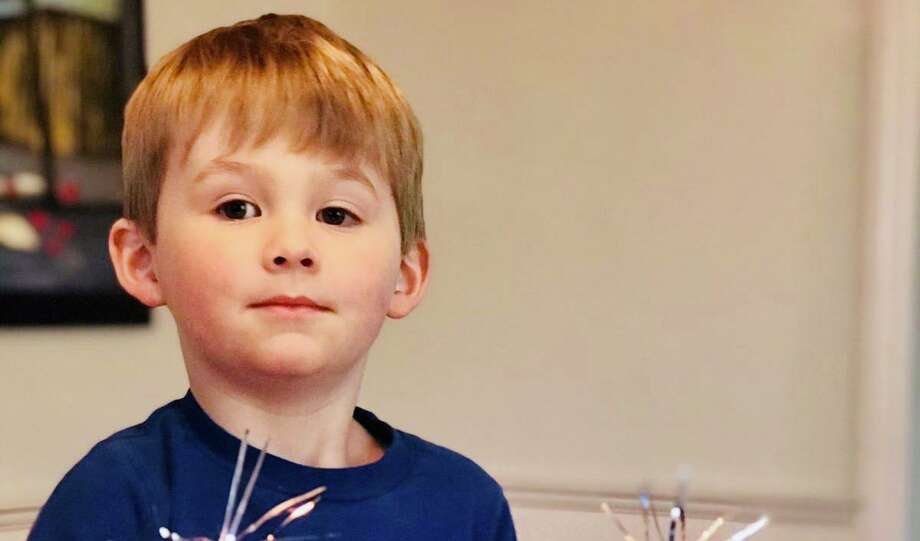 James Bennett turned 4 on Wednesday, April 1. Photo: Contributed Photo / Connecticut Post