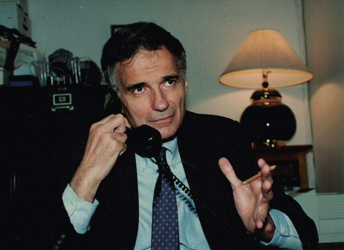 """Political activist and consumer advocate Ralph Nader has written """"The Ralph Nader and Family Cookbook,"""" featuring classic foods from Lebanon and beyond. It's filled with healthy recipes inspired by his upbringing in Connecticut, and comes out April 7."""