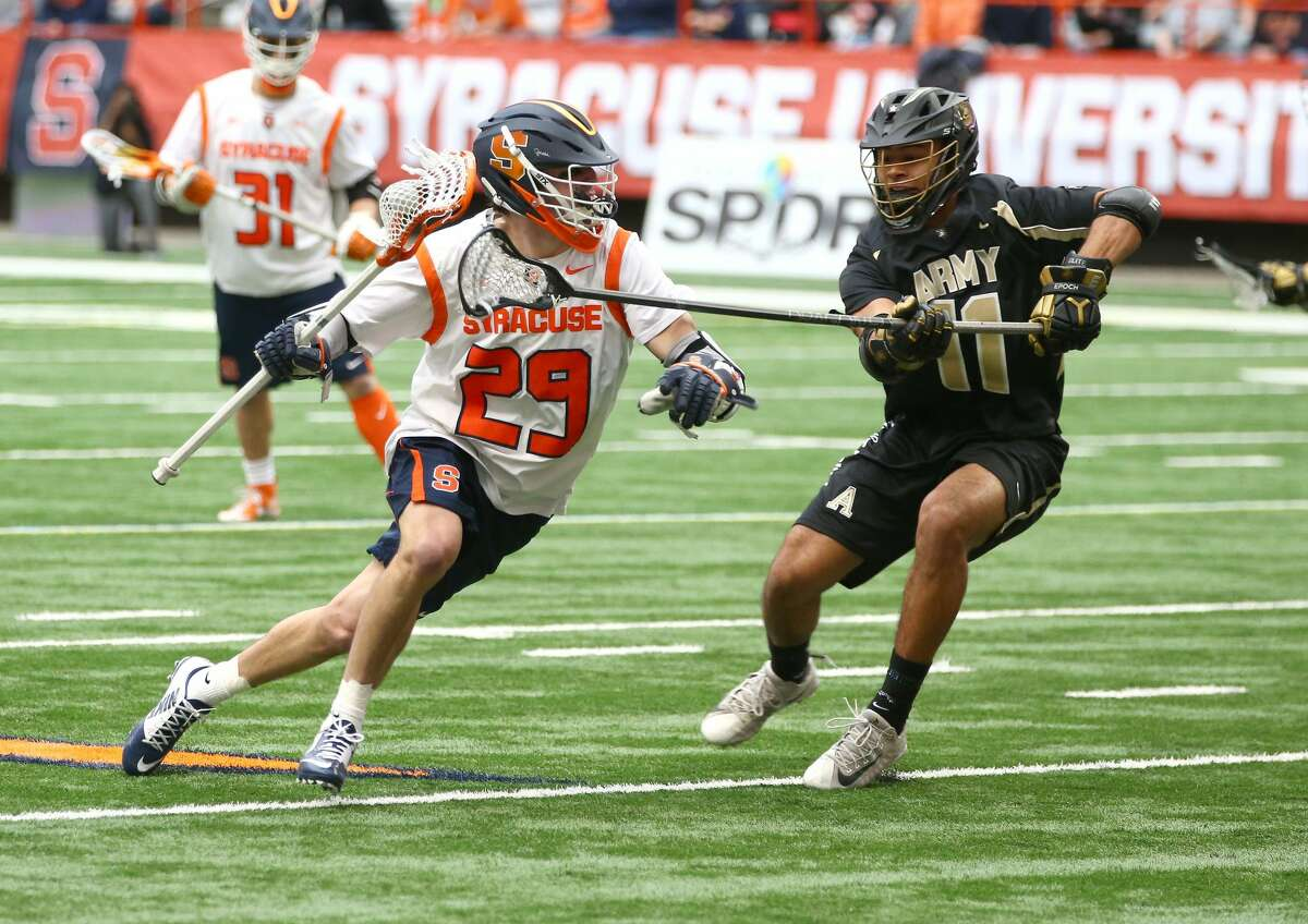 Syracuse senior attack Stephen Rehfuss had 20 points in five games before the season was canceled. (Syracuse athletic communications)