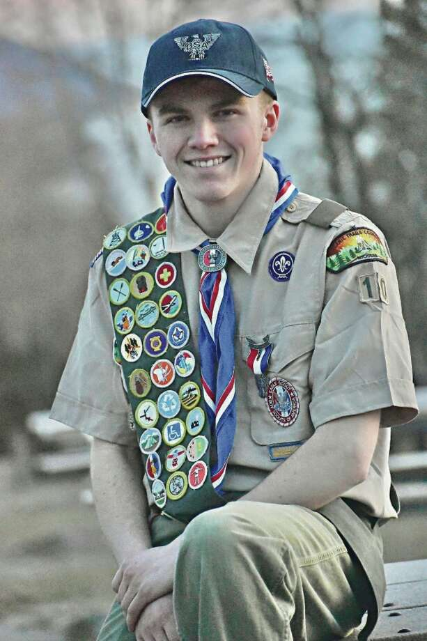 Tyler Iverson, of Benzonia, achieved Eagle Scout rank. He is a member ofBlaine Christian Church Troop 10. (Courtesy photo)