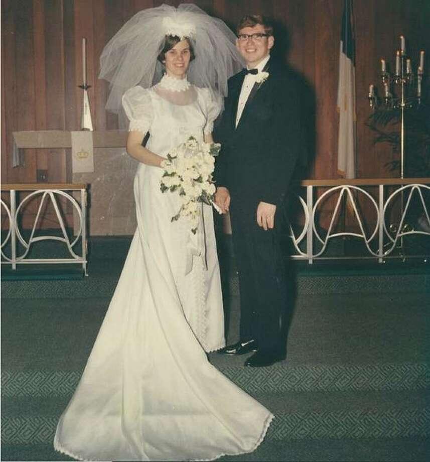 Terry and Carol Deist at their wedding