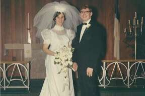 Terry and Carol Deist at their wedding