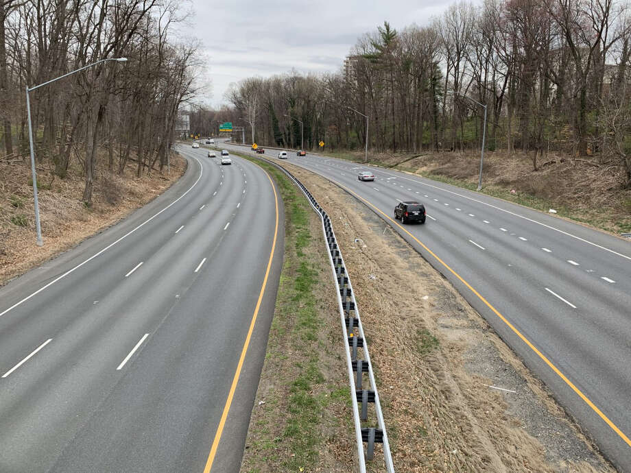 Evening rush hour traffic is light along the Capitol Beltway in Maryland, just outside the District of Columbia, on March 18. Photo: Washington Post Photo By Katherine Shaver / The Washington Post