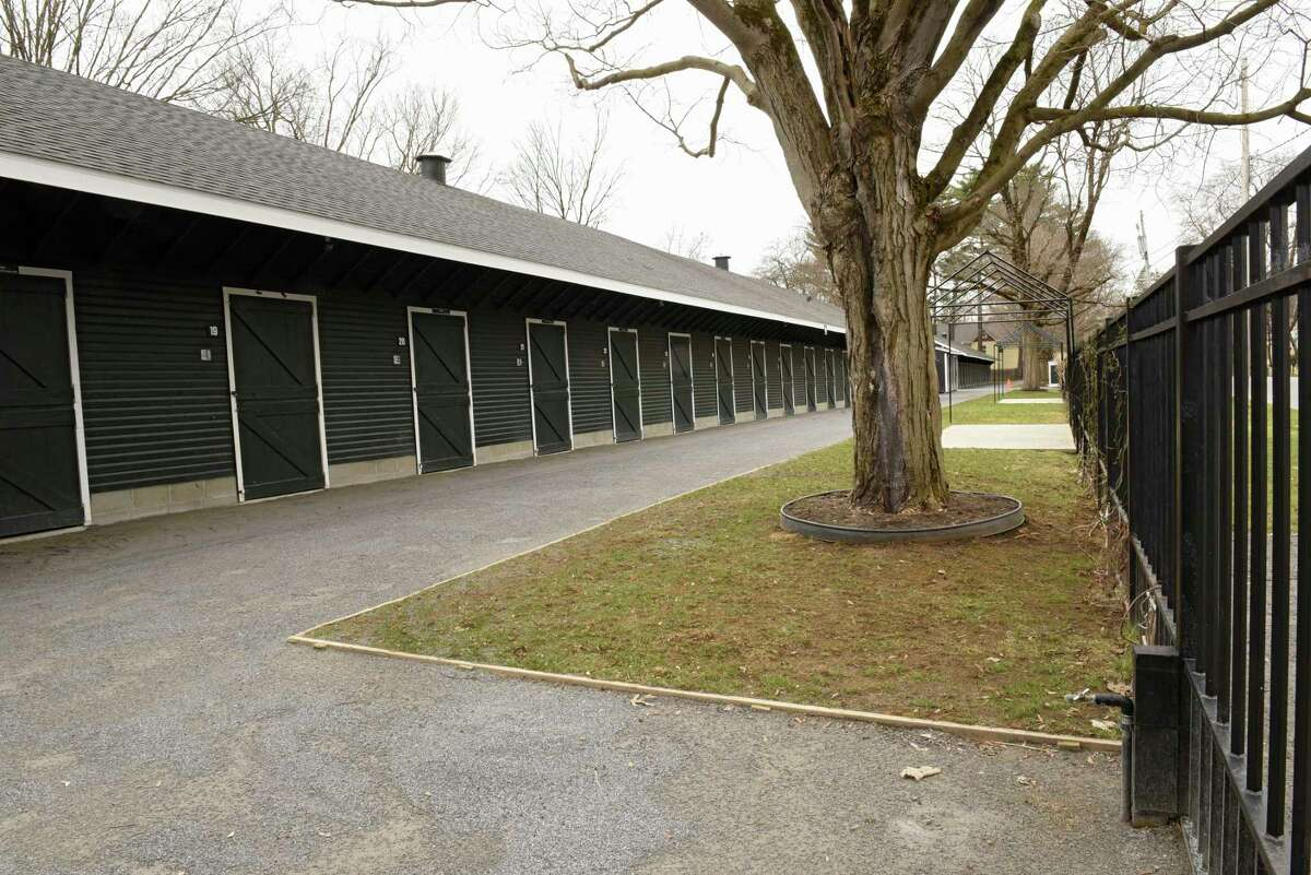 Fasig-Tipton grounds on Thursday April 2, 2020 in Saratoga Springs, N.Y. The tourism bureau in Saratoga Springs says the city and region could lose a billion dollars if Saratoga Performing Arts Center and New York Racing Association are affected. (Lori Van Buren/Times Union)