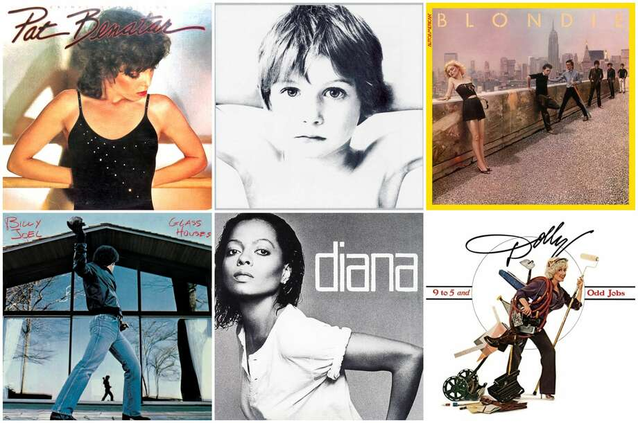 These classic albums were all released in 1980. Photo: Album Covers