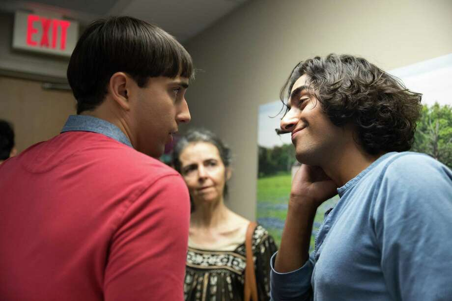 """Laredo natives and best friends Isaac Garza, left, and Eman Esfandi, right, teamed up to create the short film """"Pepito"""" which began streaming on HBO on Friday. Photo: Joshua Guenther / YoshGuenther Photography"""