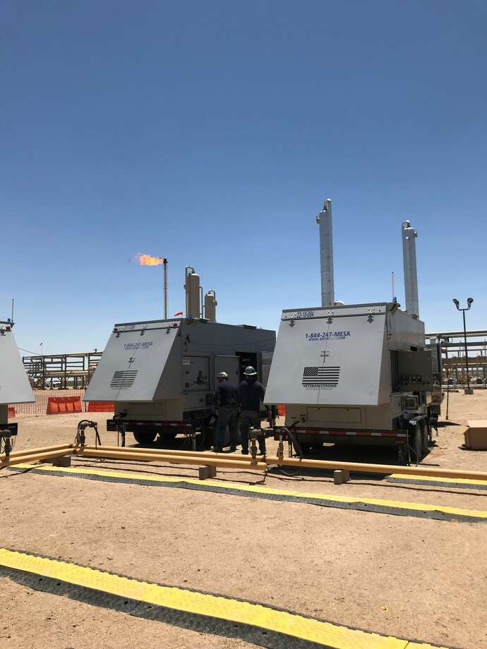 Mesa Natural Gas Solutions, which has several field offices in the Permian Basin, has donated natural gas generators to power computer modules being used in the search for a cure for COVID-19. Photo: Courtesy Photo