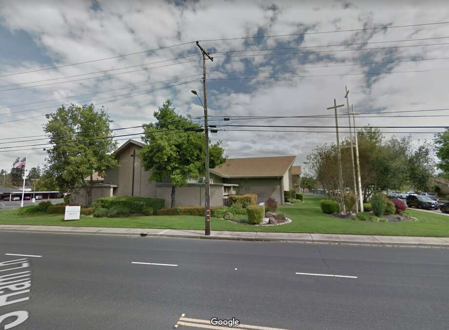 Cross Culture Christian Center in Lodi said it intended to keep holding in-person services in violation of the California shelter-in-place coronavirus order. Photo: Google Street View