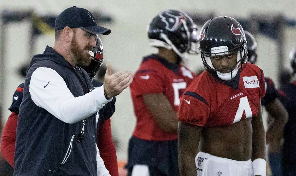 Tim Kelly's relationship with Deshaun Watson is one reason Bill O'Brien gave him play-calling duties for 2020.