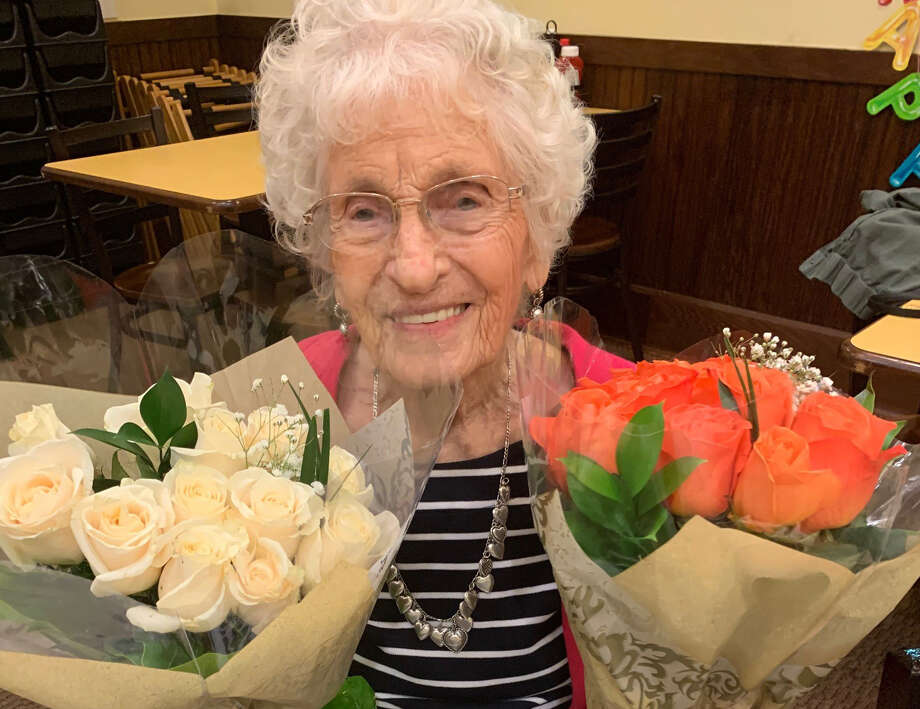Lucille Ellson on her 102nd birthday - Dec. 30, 2019. Photo: Photo By Jane Pickle / Jane Pickle
