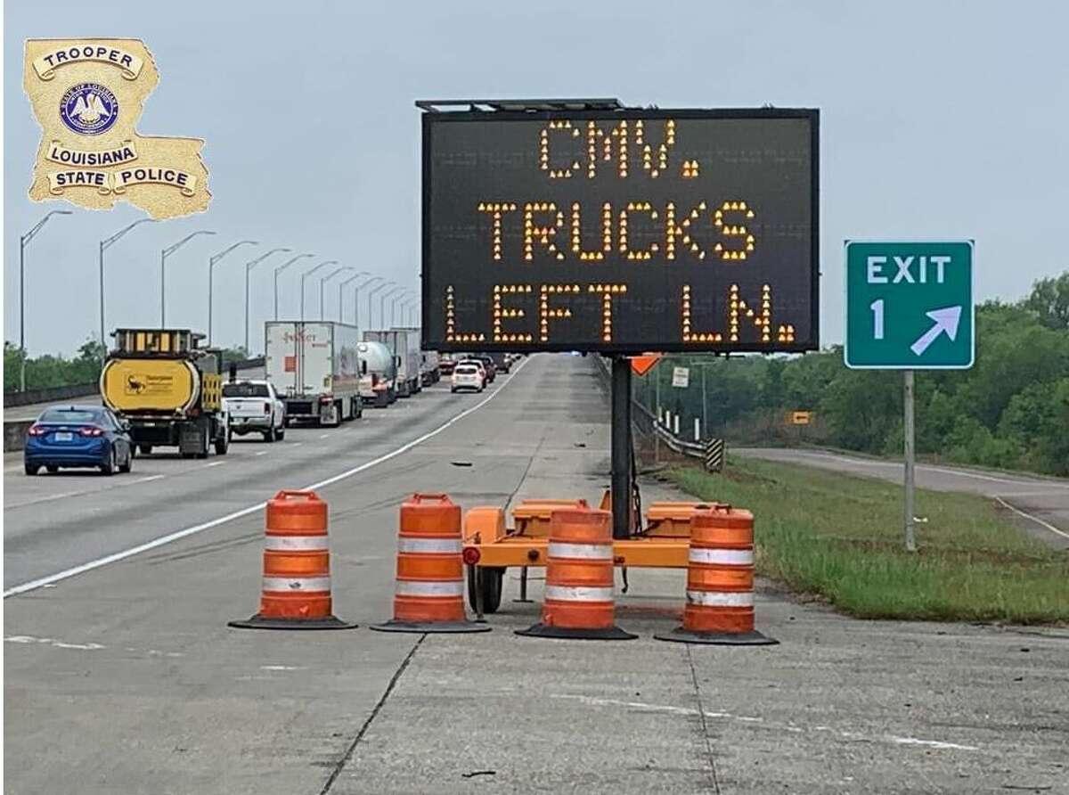 DPS checkpoints open at Louisiana-Texas border on Sunday, April 5.