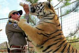 "Joe Exotic on ""Tiger King."" MUST CREDIT: Netflix"