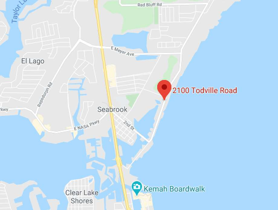 A man's body was found Sunday in Seabrook, police said. Photo: Google Maps