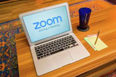 Zoom videoconferencing software has surged in use with the coronavirus pandemic.
