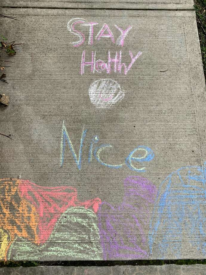 photos  street art offers words of encouragement during