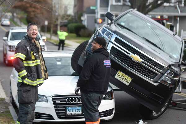 A December 2016 auto accident in Greenwich, Conn.