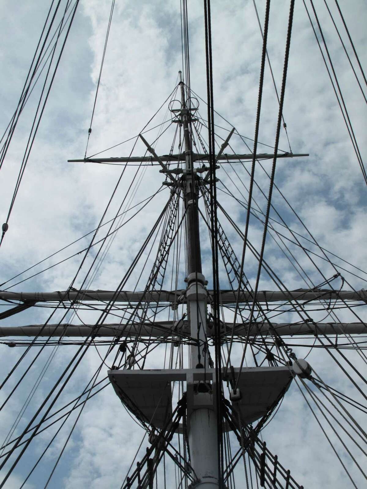 Mystic Seaport Museum in Mystic, Conn., announced March 27, 2020 that it was laying off nearly 200 employees. The museum is temporarily closed because of the COVID-19 pandemic.