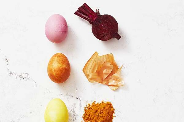 Good Housekeeping offers a guide to naturally dying Easter eggs.