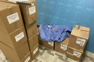 Bethel has received 500 medical face shields and 275 protective coveralls for local first responders.