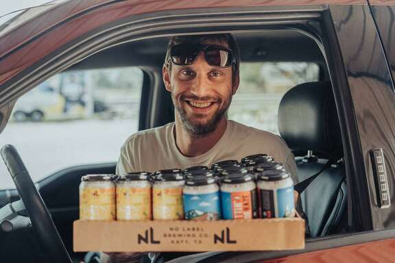 No Label Brewing is supported by fans buying from their drive-thru.