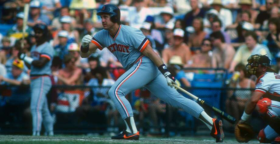 Detroit Tigers' Lance Parrish Photo: Getty Images / 1985 Focus on Sport