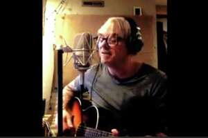 A screenshot of Steve Handlen's cover of an Animals tune in the city of Albany's #CapitalCovers challenge