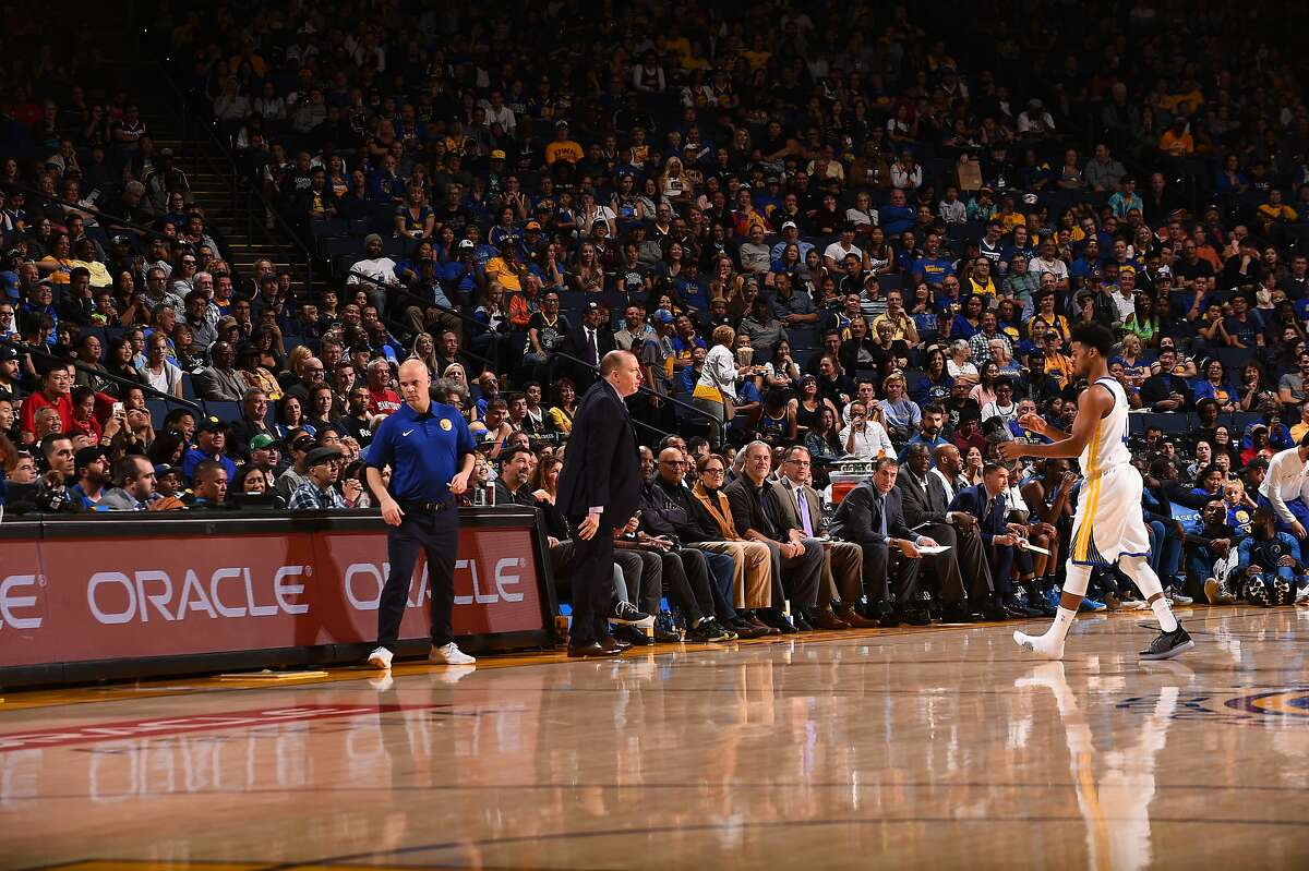 Warriors director of team operations Eric Housen does everything for Golden State from�book hotel rooms to wash uniforms to help furnish the locker-room spread.