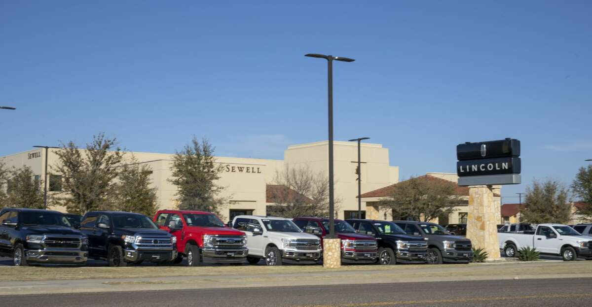 The Sewell Ford Lincoln dealership, as seen March 6, is on State Highway 191 in Odessa.