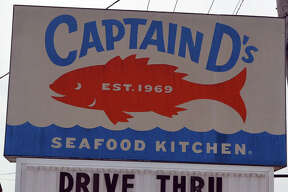 A sign at Captain D's, 1960 Troy Road in Edwardsville, sends Illinois residents that they are in this together during the COVID-19 pandemic.
