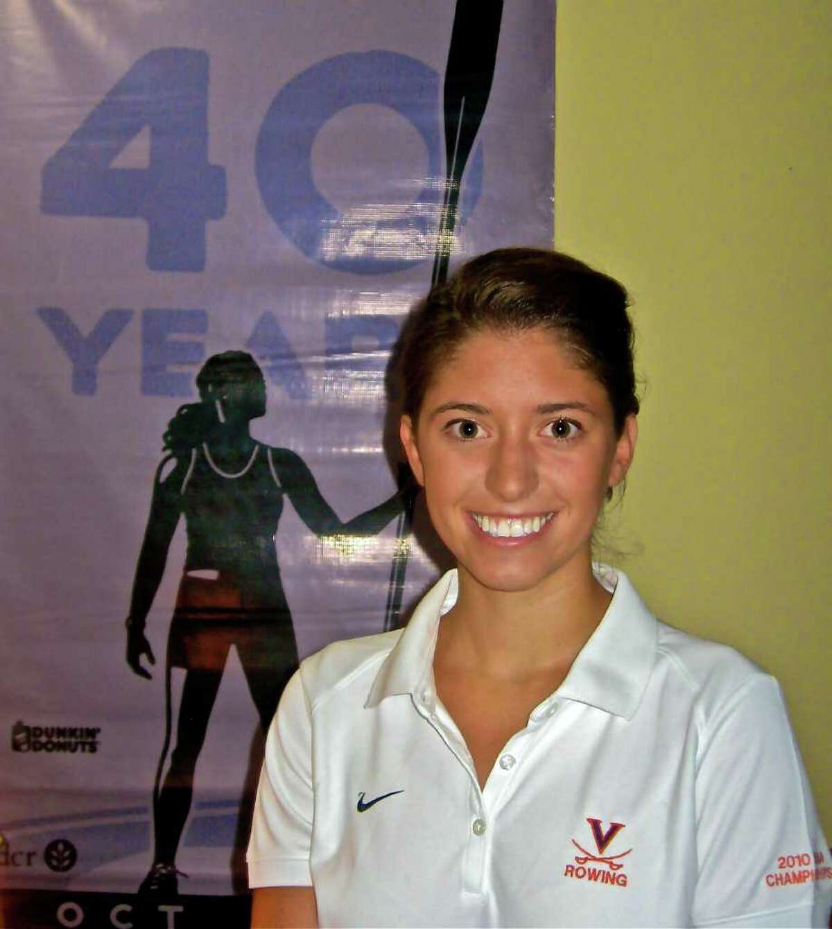 Greenwich's Cristine Candland helped lead the Virginia rowing to an NCAA championship last season.