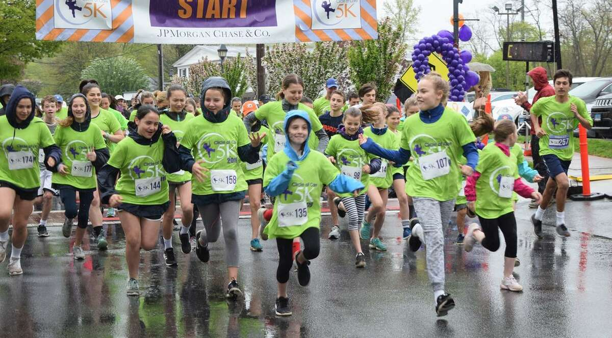 Circle of Care's annual 5K gets underway last year in Wilton Center.