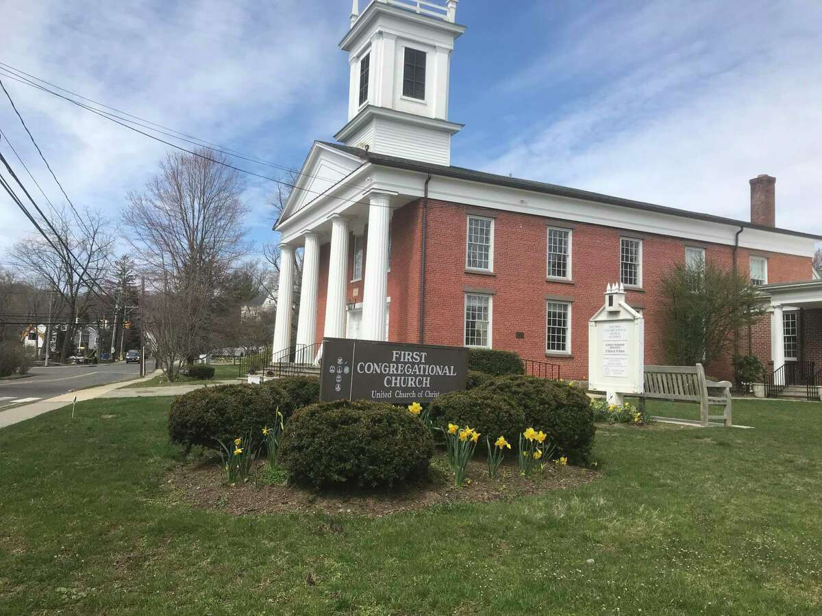 Darien's First Congregational Church - the town of Darien is holding a celebration of first responders and medical staff on the next five Saturday nights at 7 p.m., including church bells, clapping and banging pots and pans.