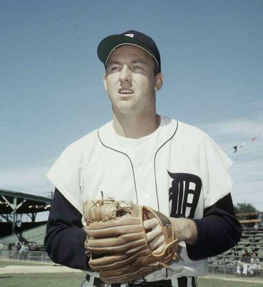 Al Kaline, Detroit Tigers' outfielder in March 1959 Photo: Associated Press / AP1959