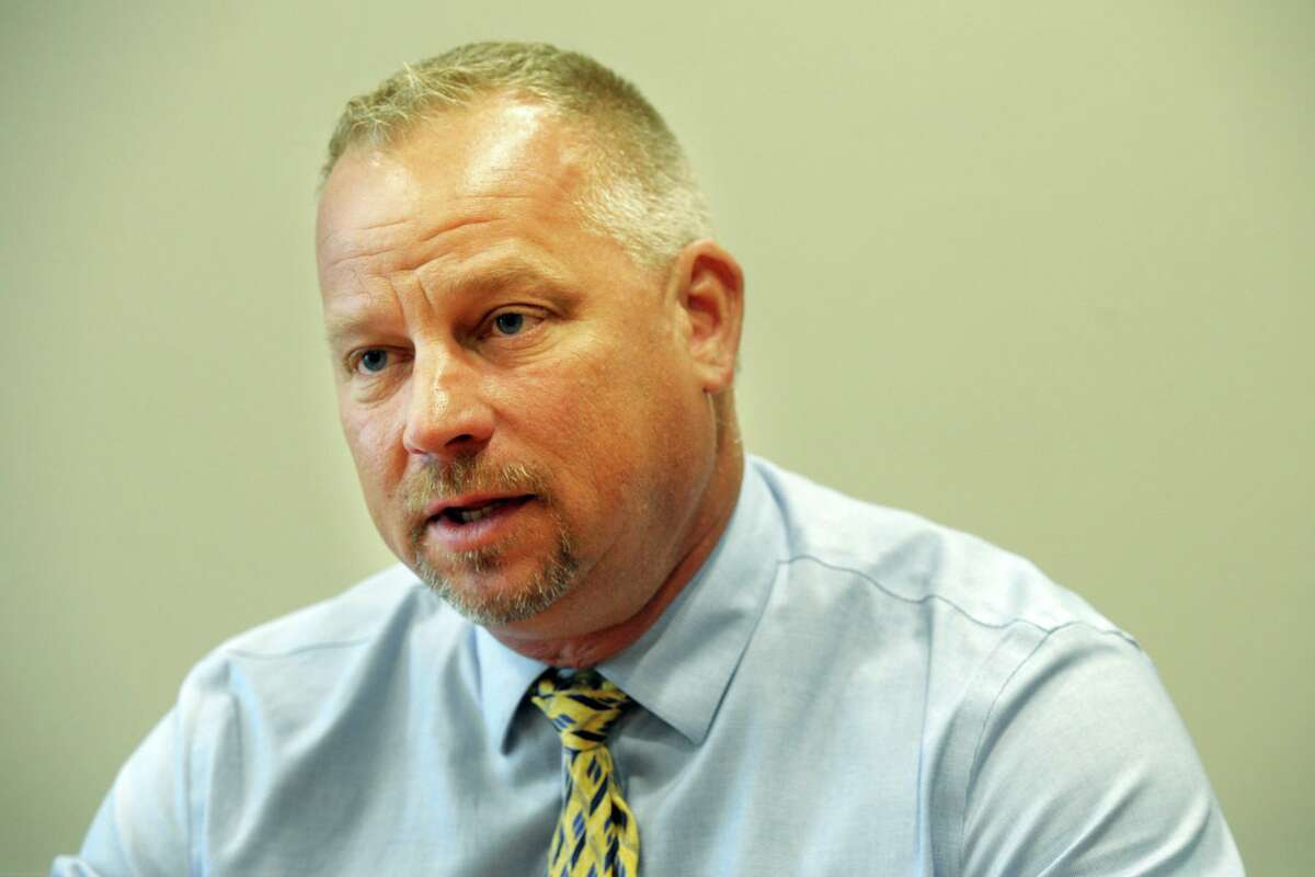 Derby Mayor Richard Dziekan applauded the choice of Tom Lenart Sr. as the new chairman of the city's police commission