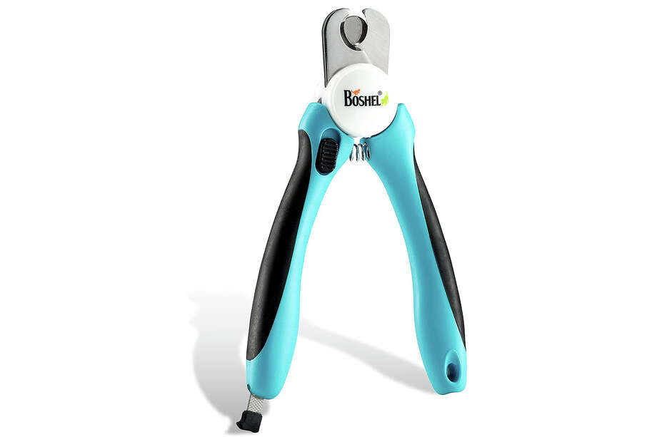 BOSHEL Dog Nail Clippers and Trimmer with Safety Guard, $16.99 Photo: Amazon
