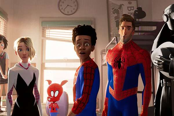 2018: Spider-man: Into the Spider-Verse - Directors: Bob Persichetti, Peter Ramsey, Rodney Rothman - Stacker Score: 90.5 - Runtime: 100 min Shameik Moore voices Spider-Man/Miles Morales in this fresh take, in which music, humor, and top-notch animation make for a unique, thrilling animated Marvel feature. Miles, an African American/Puerto Rican Brooklyn teenager, trades his spray-painting hobby for saving the city's destruction along with help from Peter Parker, Spider-Woman/Gwen Stacy, Peter Porker, and others. This slideshow was first published on theStacker.com