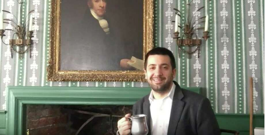 In a new video series, Wilton Historical Society Associate Curator Nick Foster explains the history of alcoholic beverages in Wilton. Photo: Contributed Photo / / Wilton Bulletin Contributed