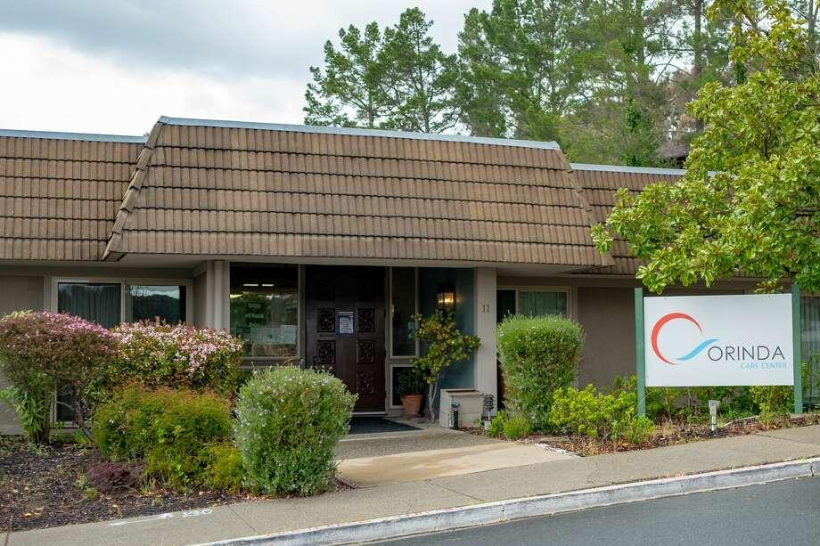 Facade of the Orinda Care Center nursing home in Orinda, California, the site of a major outbreak of the COVID-19 coronavirus, April 6, 2020. Photo: Smith Collection/Gado/Gado Via Getty Images