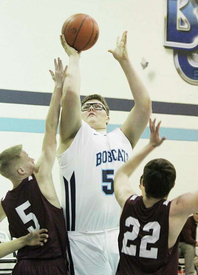 Brethren's Anthony Beccariawas named an All-State honorable mention in Division 4 boys basketball. (News Advocate file photo)