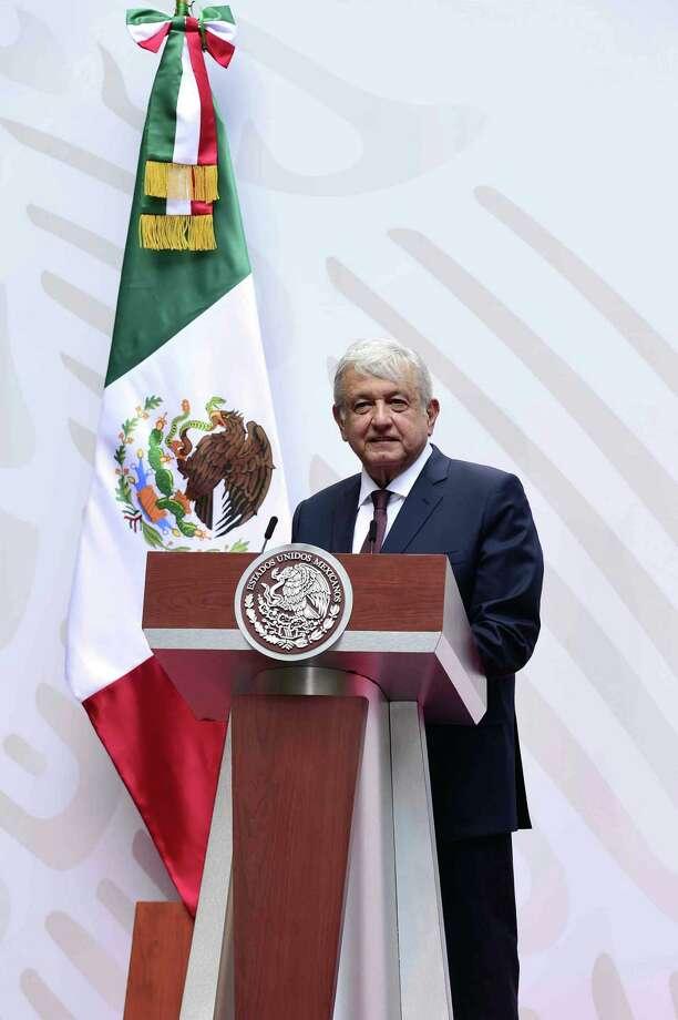 López Photo: HANDOUT /Mexican Presidency /AFP Via Getty Images / AFP