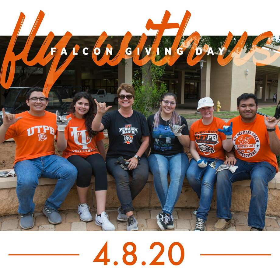 University of Texas Permian Basin will hold its annual Falcon Giving Day on Wednesday when the university will dedicate 24 hours to online fundraising. Photo: Courtesy Photo