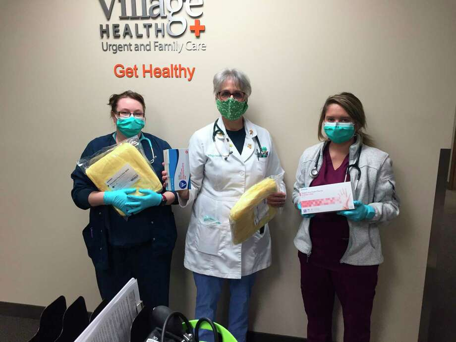 Davenport University donated 16,000 personal protection equipment (PPE) supplies to hospitals and medical facilities including Village Health. (Photo provided)