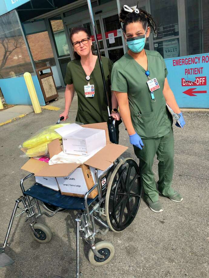 Davenport University donated 16,000 personal protection equipment (PPE) supplies to hospitals and medical facilities includingMcLaren Health Care. (Photo provided)